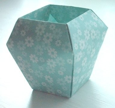How To Make A Simple 3d Origami Vase