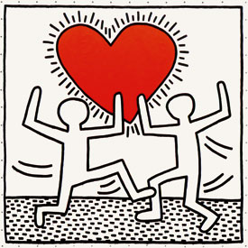 Keith haring mr deyo for Keith haring figure templates