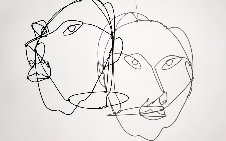 Calder wire portraits mryo how do you see yourself solutioingenieria Gallery