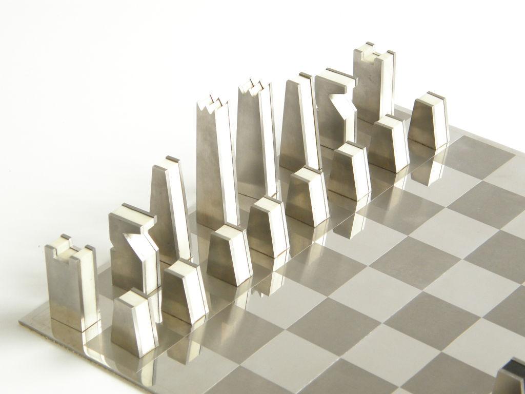 Steel Chess Pieces Emilyevanseerdmanscom