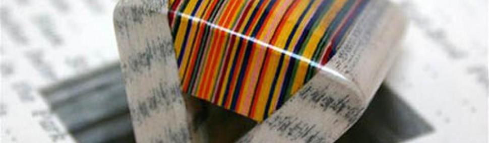 Paper Fordite Rings