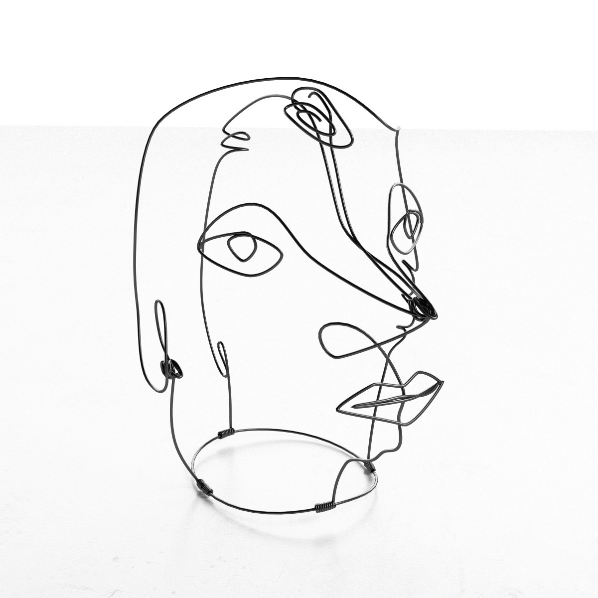 Line Design Art With Mr E : Calder wire portraits mr yo